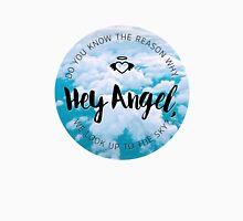 Hey Angel - Sky T-Shirt
