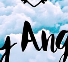 Hey Angel - Sky Sticker