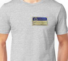 Mego Visitor Badge Unisex T-Shirt