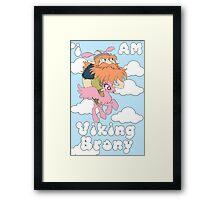 Viking Brony Framed Print