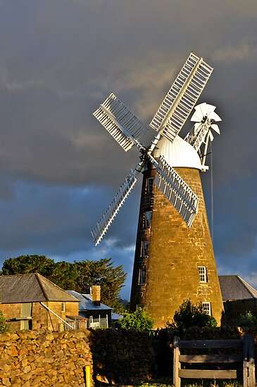 Old Flour Mill by Karine Radcliffe