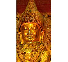 the golden Buddha Photographic Print
