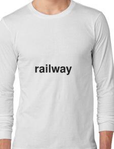railway Long Sleeve T-Shirt