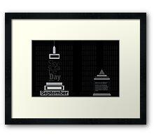 Skyscraper Day - September Framed Print