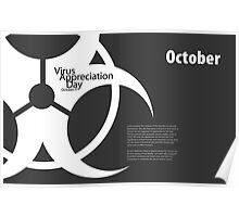 Virus Appreciation Day - October Poster