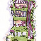 Permaculture House Bus with Vagabond possums by Cecilia Macaulay