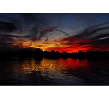 Red Hot Sky  Photographic Print