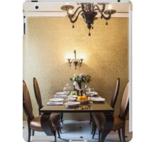 dining room interior iPad Case/Skin