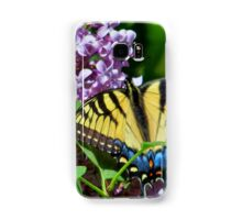 Eastern Tiger Swallowtail And Lilacs Samsung Galaxy Case/Skin