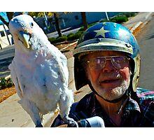 Capt. Birdman Photographic Print