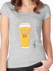 Friday Beer Women's Fitted Scoop T-Shirt