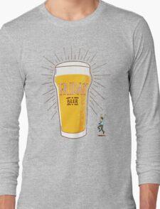 Friday Beer Long Sleeve T-Shirt