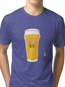Friday Beer Tri-blend T-Shirt