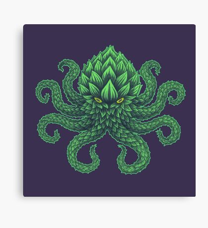 Hoptopus Canvas Print