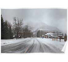 Snow storm II Poster