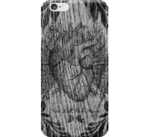 the tell tale heart : black ink edition iPhone Case/Skin