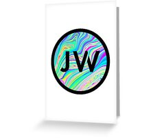 JW Logo Greeting Card