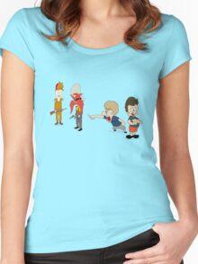Yoseavis & Fuddhead Women's Fitted Scoop T-Shirt