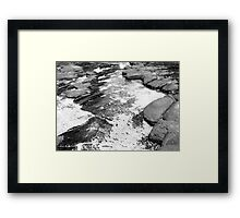 Grey Matter Framed Print
