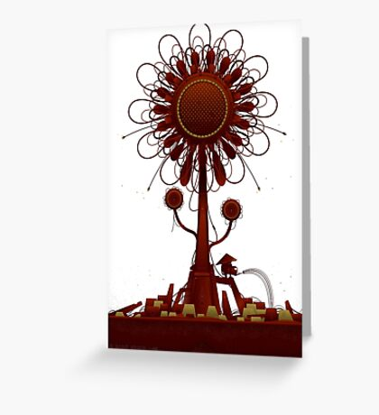 Vector Doodle 34 Greeting Card
