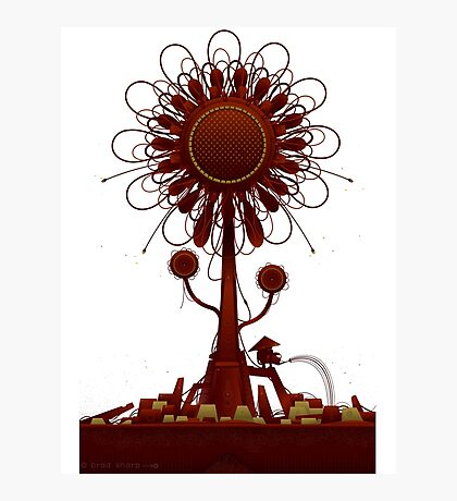 Vector Doodle 34 Photographic Print