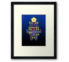 CHRISTMASBEAR Framed Print