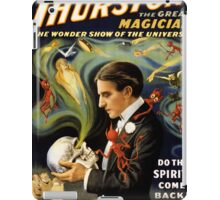 Thurston the great magician 1915 Vintage Poster iPad Case/Skin
