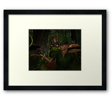 FRIENDS IN SMALL PLACES Framed Print