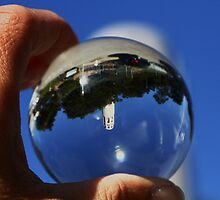 the World in my Hands ~ Coit Tower  by fototaker