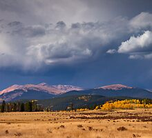 Storms Along Kenosha Pass by John  De Bord Photography