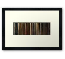 Moviebarcode: Idiocracy (2006) Framed Print