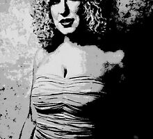 BETTE MIDLER by OTIS PORRITT