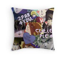 DIO Brando Tumblr college Throw Pillow