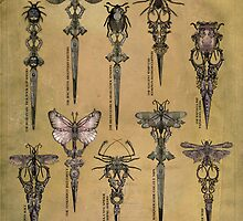 Etta Diem's Cursed Shears by InsectsAngels