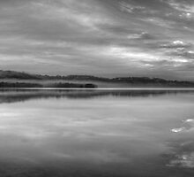 It's All Black & White - Narrabeen Lakes, Sydney Australia - The HDR Experience by Philip Johnson
