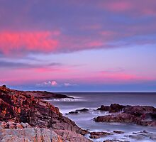 Boat Harbour Sunset Spectacular by bazcelt