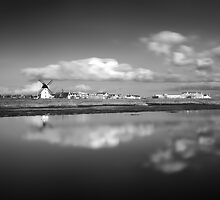 Lytham Becalmed - Lytham St Annes, Lancs, UK by ExclusivelyMono