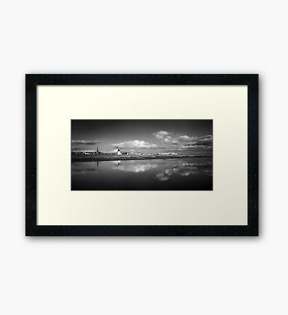 Lytham Becalmed - Lytham St Annes, Lancs, UK Framed Print