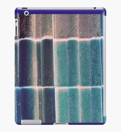 background with tiles iPad Case/Skin