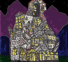 Haunted House Hill by shawneeboy