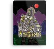 Haunted House Hill Metal Print