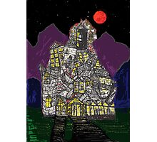 Haunted House Hill Photographic Print