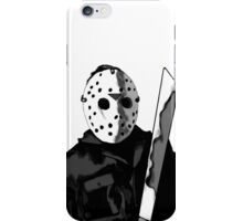 Jason Friday the 13th Horror Movie Art iPhone Case/Skin