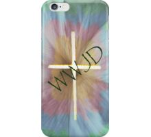 WWJD iPhone Case/Skin