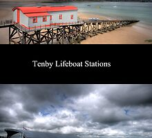 Tenby Lifeboat Stations Pembrokeshire by Steve Purnell
