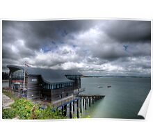 Tenby Lifeboat Station Pembrokeshire Poster