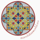 Buddhist Mandala n1 by Mandala's World