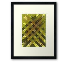 Military Stripes Framed Print