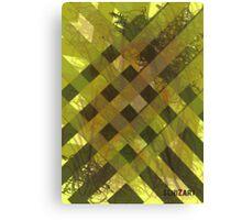 Military Stripes Canvas Print