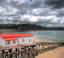Tenby Lifeboat House 2 by Steve Purnell